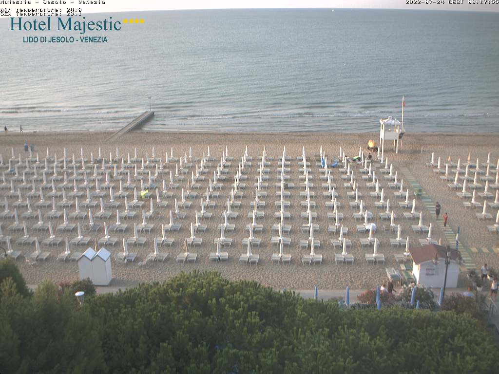 Jesolo Webcam Hotel Majestic