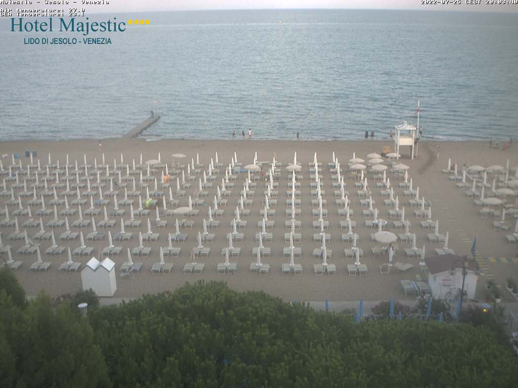 jesolo webcam hotel Mejestic